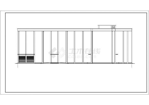 山东四层混凝土框架结构教学楼全套建筑结构施工图-图二
