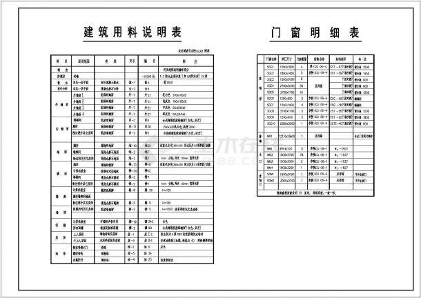 深圳地五层框架结构综合教学楼建筑施工图-图二