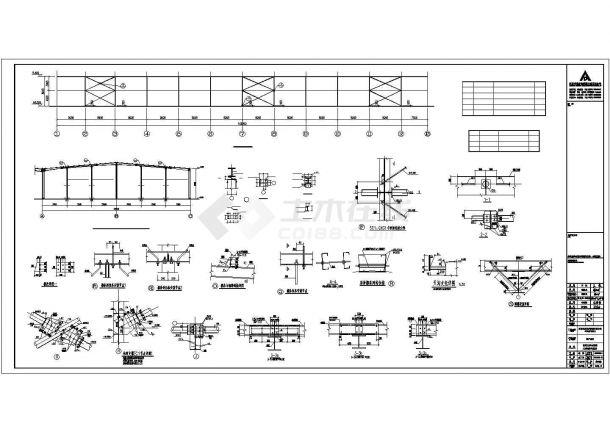 某今麦郎副产品库结构设计方案CAD图纸-图一