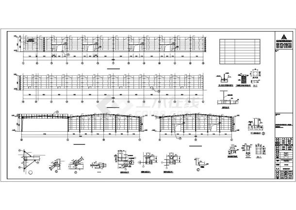 某今麦郎副产品库结构设计方案CAD图纸-图二