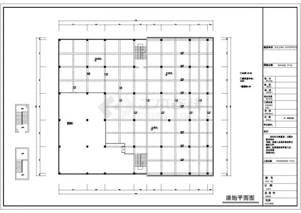 某地经典咖啡店装修CAD施工全套设计图(完整)-图一