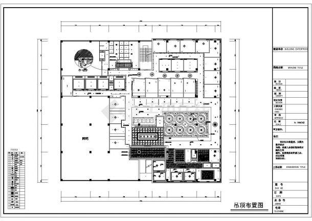 某地经典咖啡店装修CAD施工全套设计图(完整)-图二