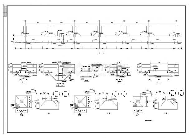 某市现浇空心楼板高层全套施工图CAD详图-图一