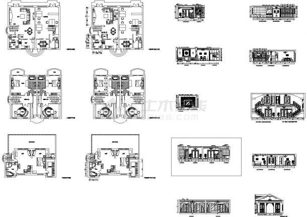 某市高档别墅全套结构设计图纸-图一