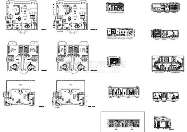 某市高档别墅全套结构设计图纸-图二