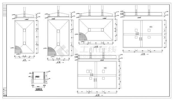 某城市综合楼结构设计CAD参考详图-图二