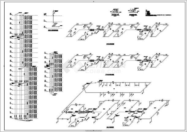 [青海]超高層綜合建筑群全套采暖通風系統施工圖(建筑形式多 鍋爐房熱力系統)-圖二