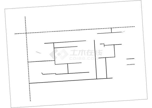 大型住宅小区工程室外管线综合布置CAD图设计-图一