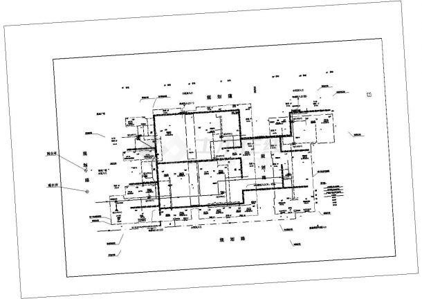 大型住宅小区工程室外管线综合布置CAD图设计-图二