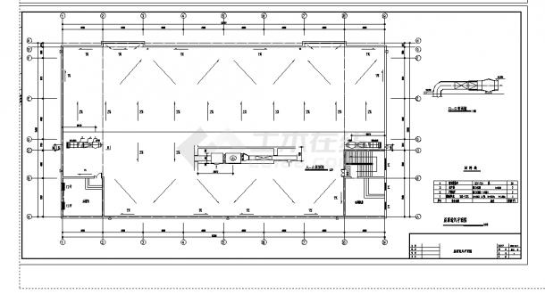 2套中型商场中心建筑中央空调工程系统设计施工cad图纸-图一