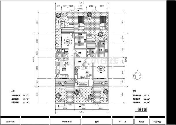 清远农宅设计方案CAD大样构造节点图-图一