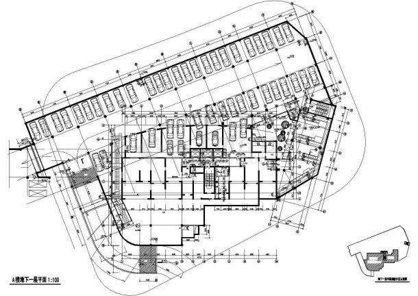 某地高级住宅楼建筑设计图纸-图一