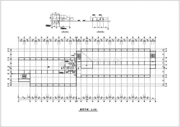 宁波市某服饰多联机系统cad平面设计施工图-图二