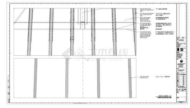 同济-英国馆建筑设计施工图-图二