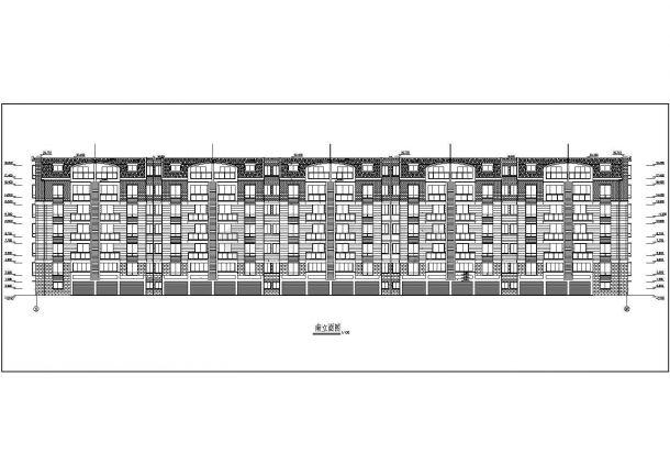 某市高档住宅小区建筑设计图纸-图一