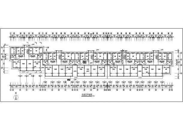 某市高档住宅小区建筑设计图纸-图二