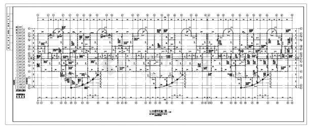 某纯剪力墙十九层住宅楼结构CAD设计图纸-图一