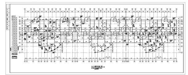 某纯剪力墙十九层住宅楼结构CAD设计图纸-图二