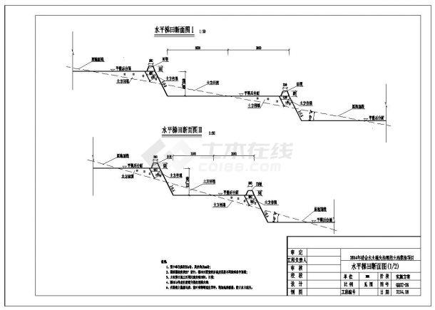 土地整治项目结构设计施工图(农田、水利、生产道)-图一