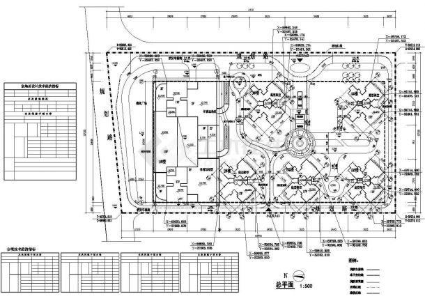 某地多层塔室住宅楼建筑设计图纸-图一
