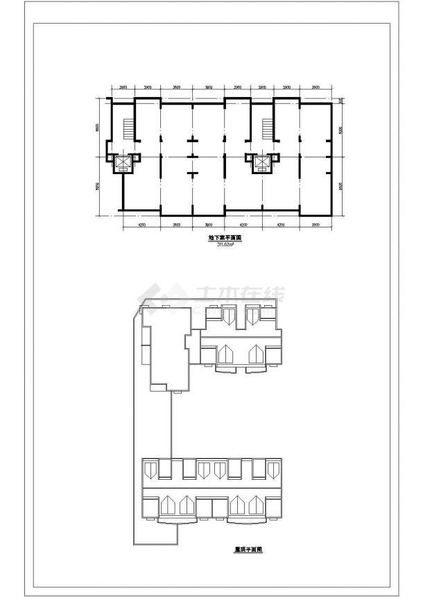 某地高级高层住宅楼建筑施工图纸-图一
