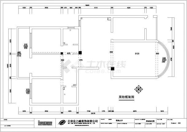 现代风格住宅楼全套施工设计cad图纸(含实景照片)-图一