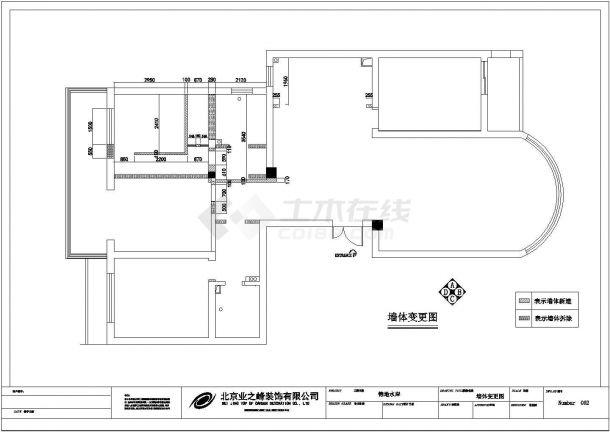 现代风格住宅楼全套施工设计cad图纸(含实景照片)-图二