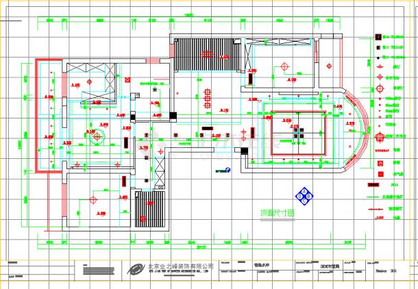 某地单层现代案例含实景照片建筑设计cad图纸-图一