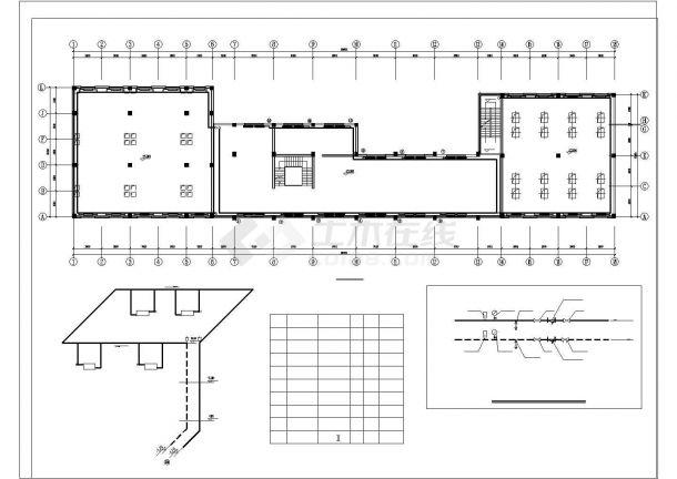 [暖通图纸] 厂房建筑散热器采暖系统设计施工图cad-图二