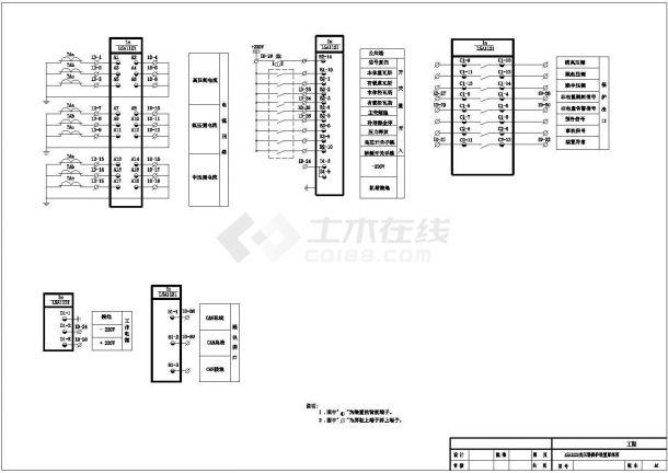 设备控制器_LSA1121变压器保护装置原理图-图一