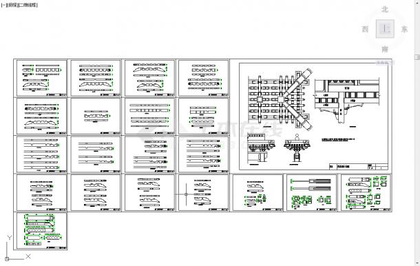 五套古建筑常用cad设计施工图纸-图二