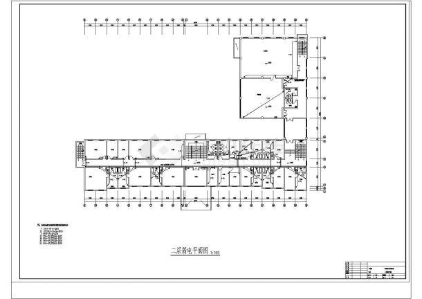 某五层办公楼弱电系统设计方案图-图二