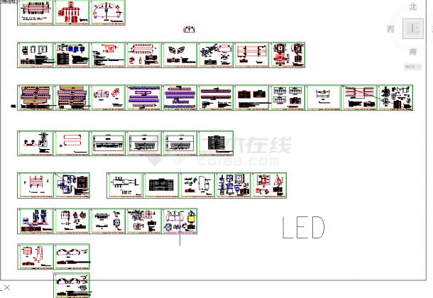 五套隧道常用cad结构设计图纸-图一