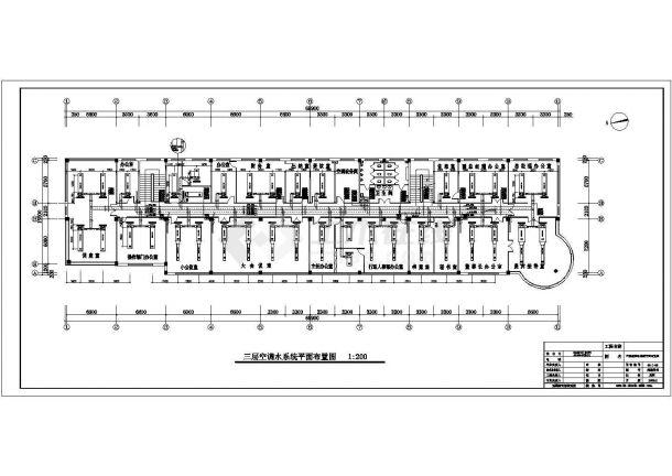 某综合办公楼空调采暖设计cad施工图纸(含设计说明)-图二