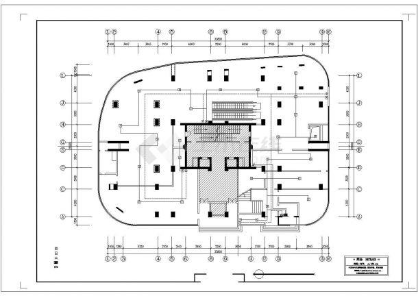 邮局消防自动报警平面图设计-图二