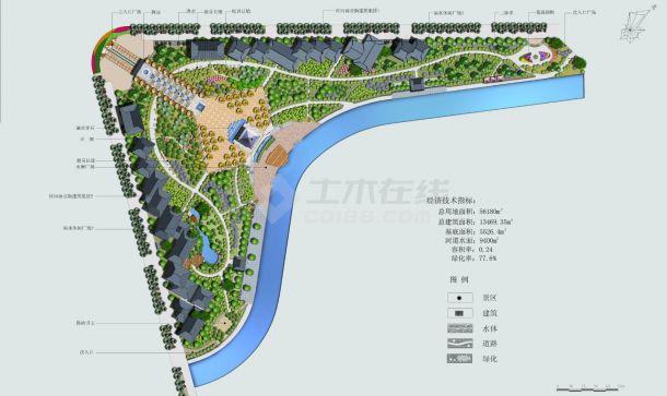 重庆某公园景观设计cad全套施工图(甲级院设计)-图一