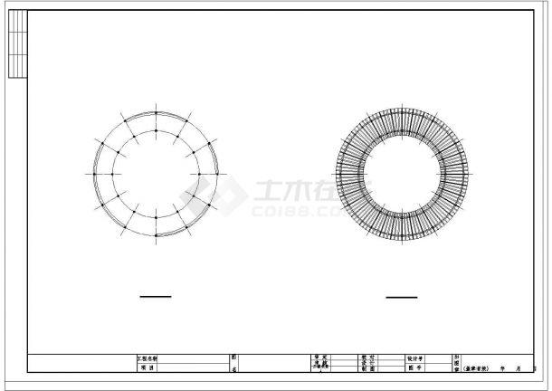 镇海区向辰园规划改造设计cad全套景观施工图(含施工说明)-图二
