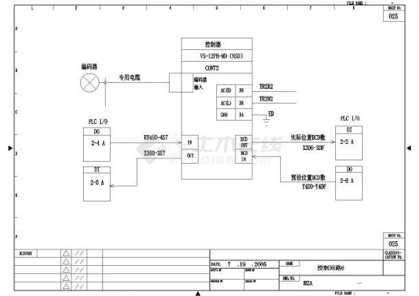 设备控制器_常用CAD电气图库对照-图一