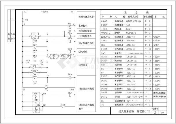 设备控制器_常用电气控制原理图-图一