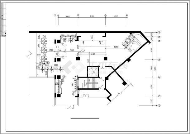 某住宅综合楼舒适性空调及制冷系统毕业设计CAD资料-图一