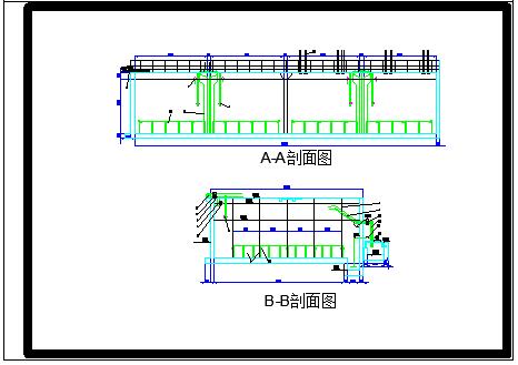 某啤酒污水处理厂工艺cad设计全套施工图纸-图一