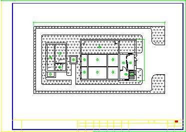 某污水处理厂工艺cad设计施工图-图二