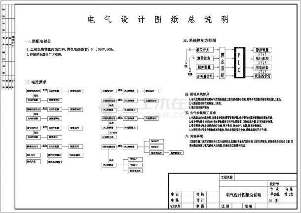 设备控制器_电气设计图纸-图一