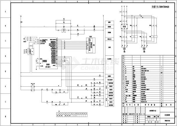 设备控制器_变频一拖二电气原理图-图一