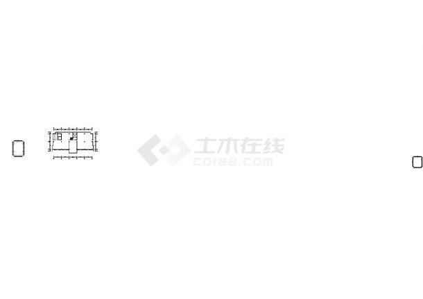 大俊科技产业园区施工图丶带效果图CAD图纸-图一