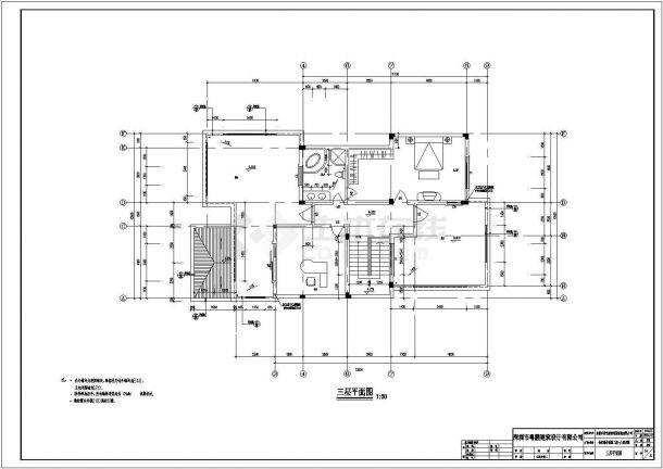 东莞市某小区二期框架结构设计多层住宅楼建筑设计CAD图(含效果图及设计说明)-图二