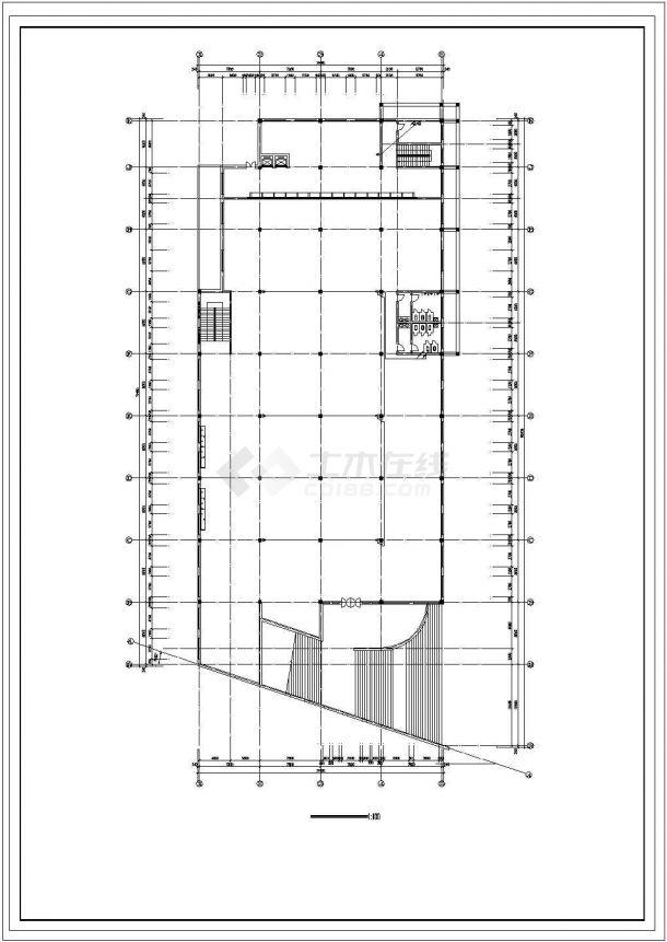 某中学食堂电气设计图纸-图二