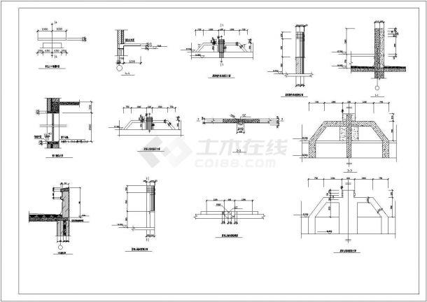 某六层砖混住宅楼招标文件CAD资料(含论文,结构图纸)-图二