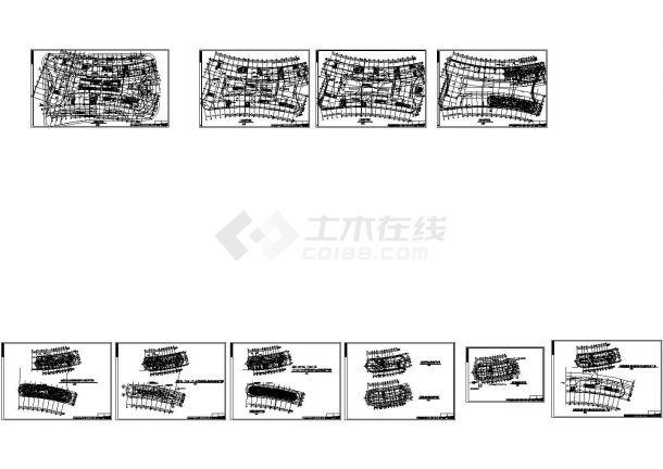 办公楼设计_某高层酒店及办公楼电气施工图-图二