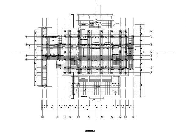 西安市大唐芙蓉园大观楼古建房屋建筑设计CAD施工图-图二